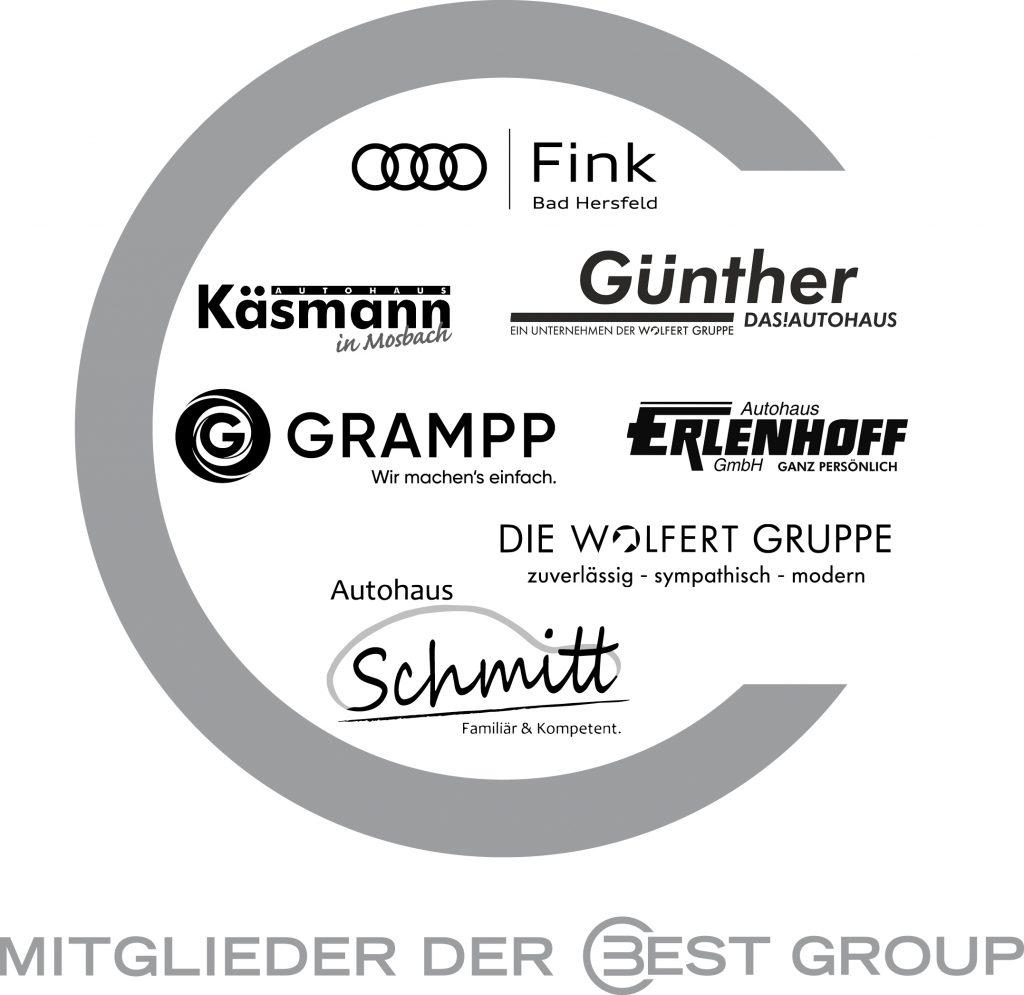 © BEST GROUP | Best Group alle Mitglieder Logos | Fahrzeugangebot im Rhein-Main-Neckar-Gebiet