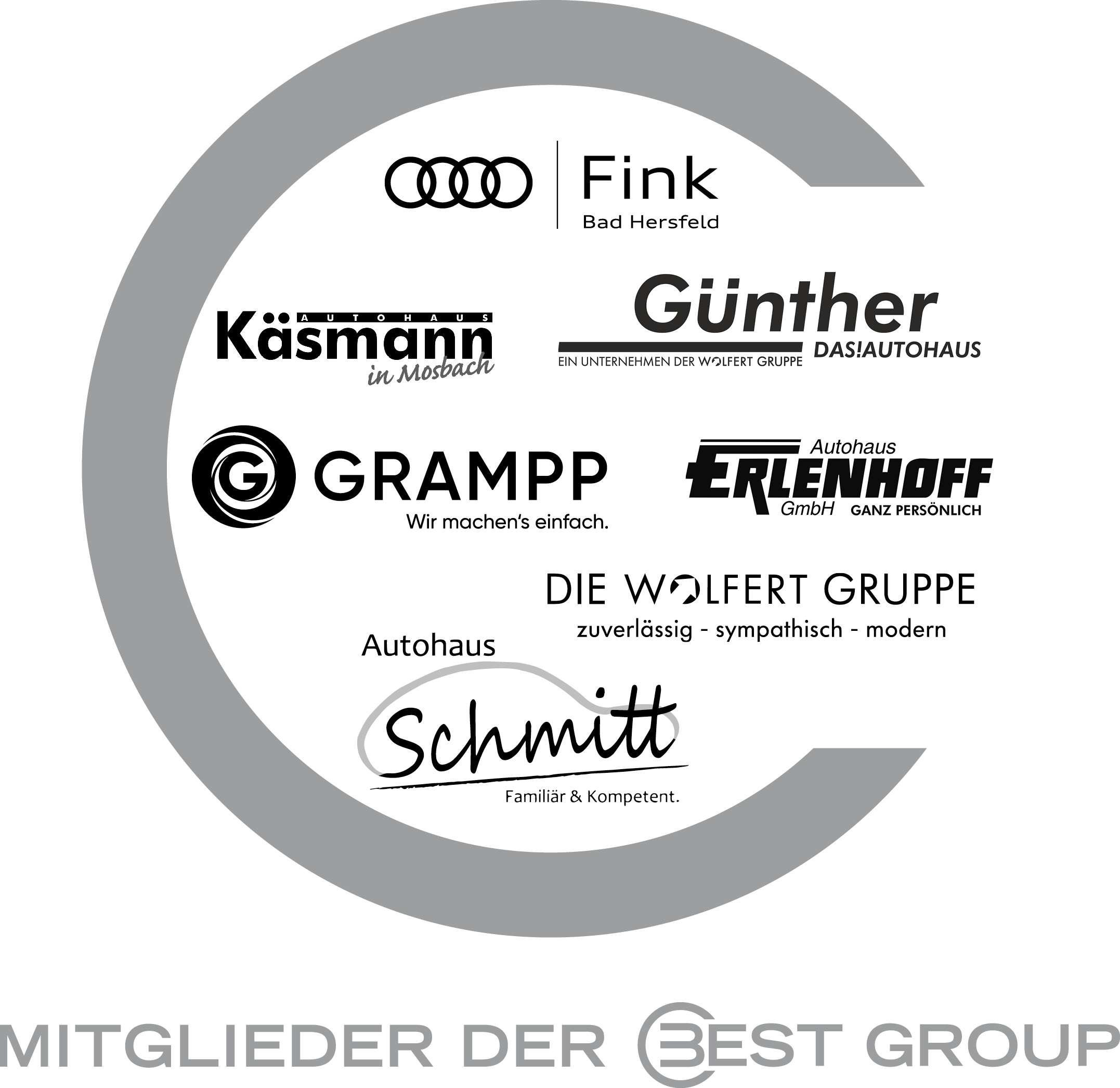 © BEST GROUP | Best Group alle Mitglieder Logos