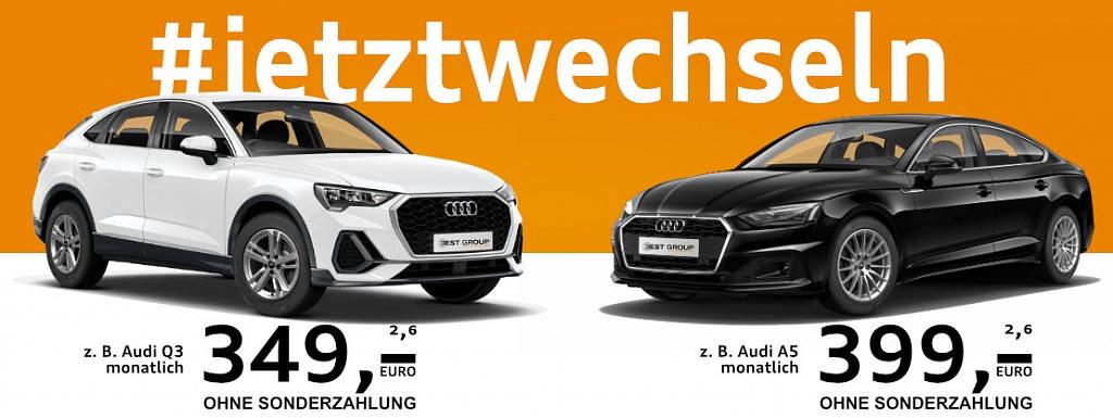 #jetztwechseln Audi Q§ und A5